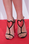 Olga Kurylenko's Christian Louboutin Cora' patent leather sandals