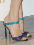 Olga Kurylenko's Jimmy Choo Deckle shoes