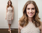 Allison Williams In Alexander McQueen - SAMA Eyewear Launch