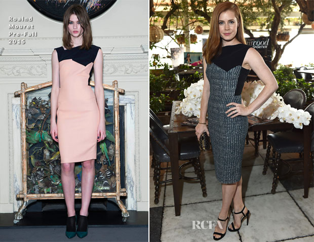 Amy Adams In Roland Mouret  - The Hollywood Reporters' 25 Most Powerful Stylists in Hollywood Luncheon
