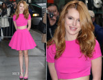 Bella Thorne In AQ/AQ - The View