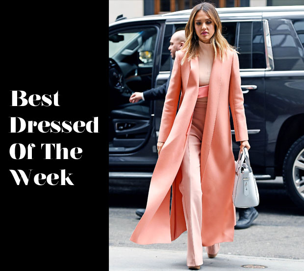 Best Dressed Of The Week - Jessica Alba In Narciso Rodriguez