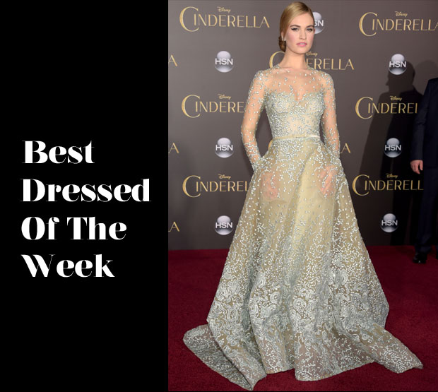 Best Dressed Of The Week Lily James