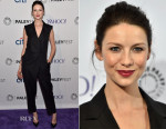 Caitriona Balfe In Bottega Veneta - PALEYFEST LA Presents 'Outlander'