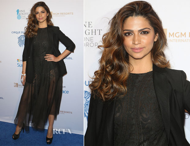 Camila Alves In Ashi Studio - 'One Night for One Drop' Event