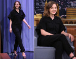 Carey Mulligan In IRO - The Tonight Show Starring Jimmy Fallon