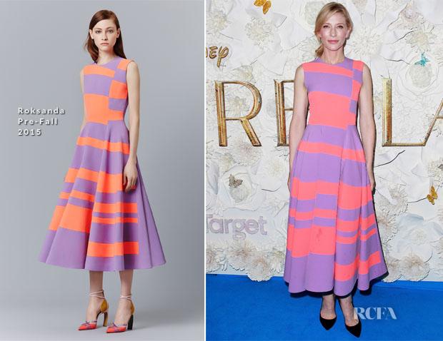 Cate Blanchett In Roksanda - 'Cinderella' Sydney Premiere