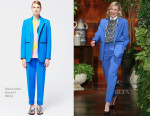 Cate Blanchett In Roksanda - The Ellen DeGeneres Show
