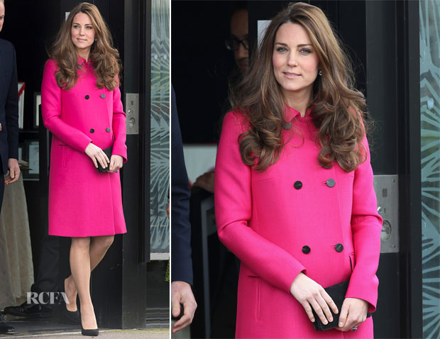 Catherine, Duchess of Cambridge In Mulberry - The Stephen Lawrence Charitable Trust