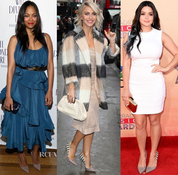 Celebrities Love Kurt Geiger Bond Pumps