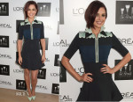Cheryl Fernandez-Versini In Issa - L'Oreal Paris' 'The Brush Contest'