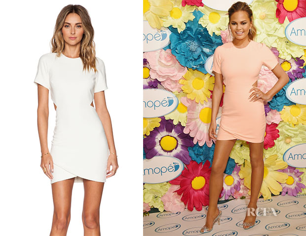 Chrissy Teigen's  Elizabeth and James Skylyn Dress