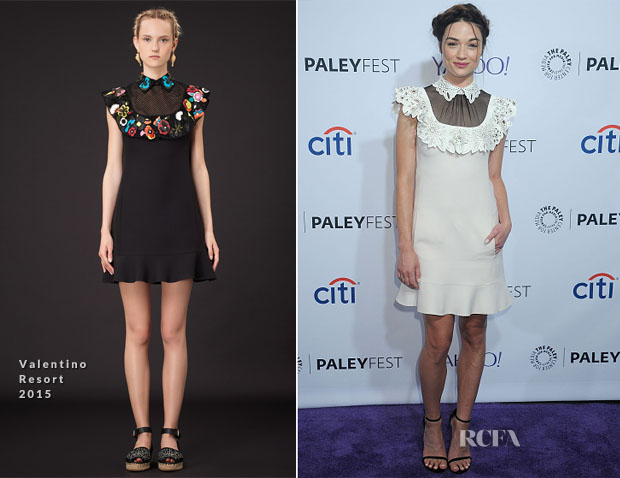 Crystal Reed In Valentino - PALEYFEST LA Presents 'Teen Wolf'