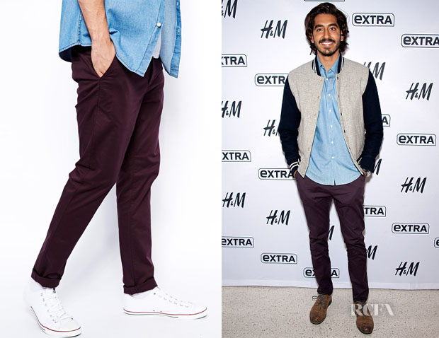 Dev Patel's ASOS Skinny Chinos