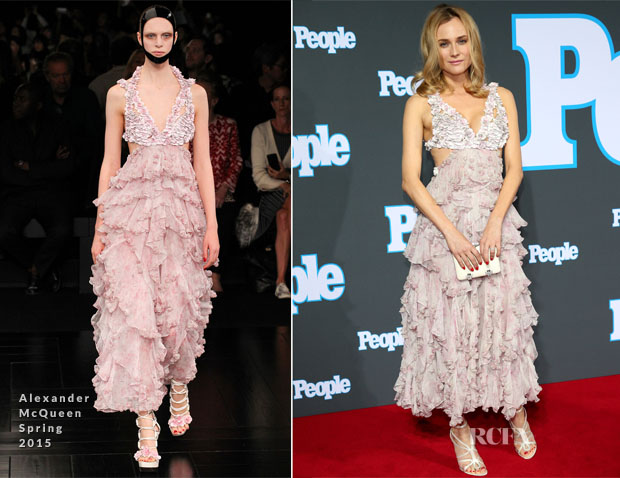 Diane Kruger In Alexander McQueen - PEOPLE Magazine Germany Launch Party