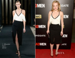 Elisabeth Moss In J. Mendel - 'Mad Men' New York Screening