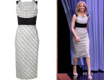Elizabeth Banks' Roland Mouret Cut Out Back Dress