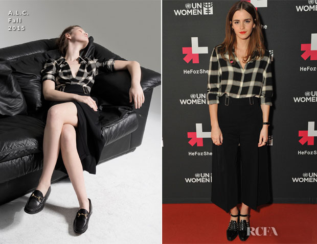 Emma Watson In ALC  - International Women's Day