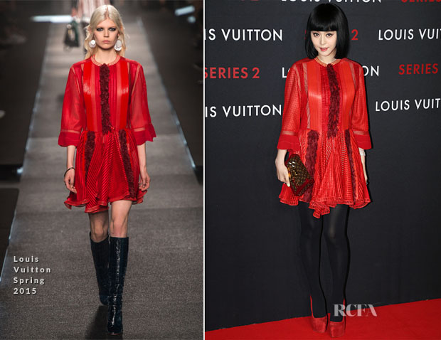 Fan Bingbing In Louis Vuitton - Louis Vuitton 'Series 2' Exhibition