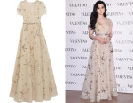 Fan Bingbing's Valentino Sequined Silk-Organza Gown