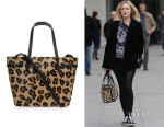 Fearne Cotton's Kurt Geiger London Leather Leopard Tote