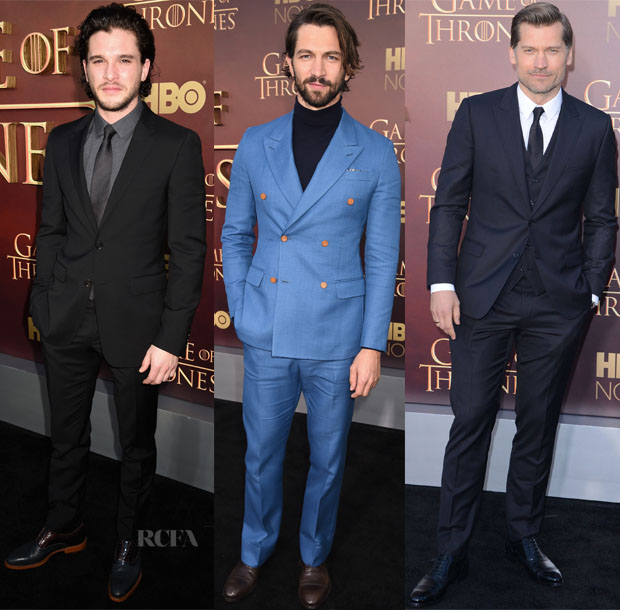 'Game Of Thrones' Season 5 Premiere Menswear Red Carpet Roundup