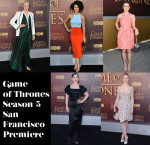 Who Was Your Best Dressed At The 'Game of Thrones' Season 5 San Francisco Premiere?