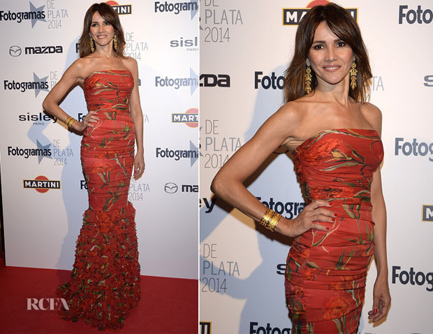 Goya Toledo In Dolce & Gabbana - Fotogramas Awards