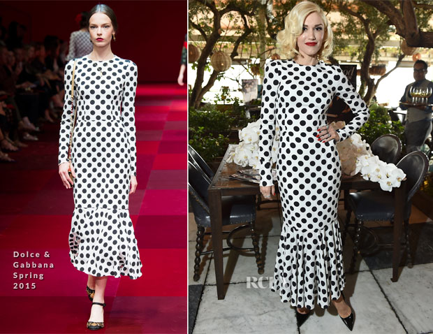 Gwen Stefani In Dolce & Gabbana - The Hollywood Reporters' 25