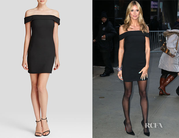 Heidi Klum's Elizabeth and James Kristelle Dress