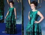 Helena Bonham Carter In Vivienne Westwood Couture - 'Cinderella'  London Premiere