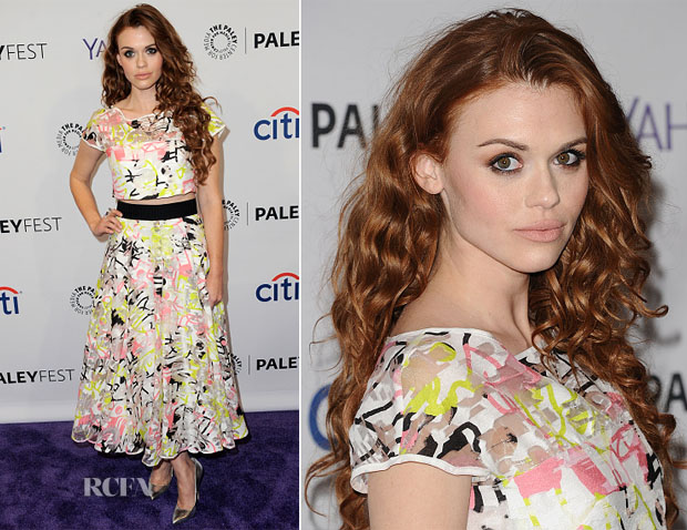 Holland Roden In Milly - PALEYFEST LA Presents 'Teen Wolf' copy