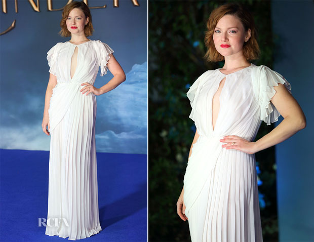 Holliday Grainger In Vionnet - 'Cinderella' London Premiere