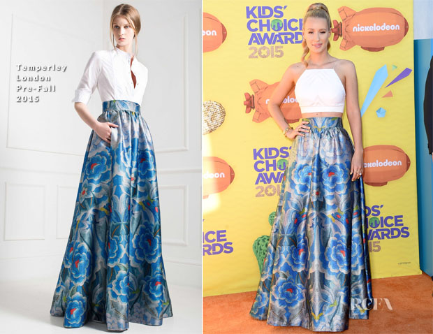Iggy Azalea In Temperley London - 2015 Nickelodeon Kids' Choice Awards