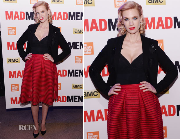January Jones In Maje - 'Mad Men' New York Screening