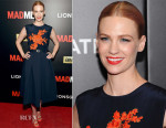 January Jones In Preen - 'Mad Men' New York Screening