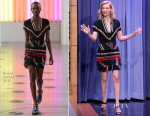 January Jones In Preen - The Tonight Show Starring Jimmy Fallon