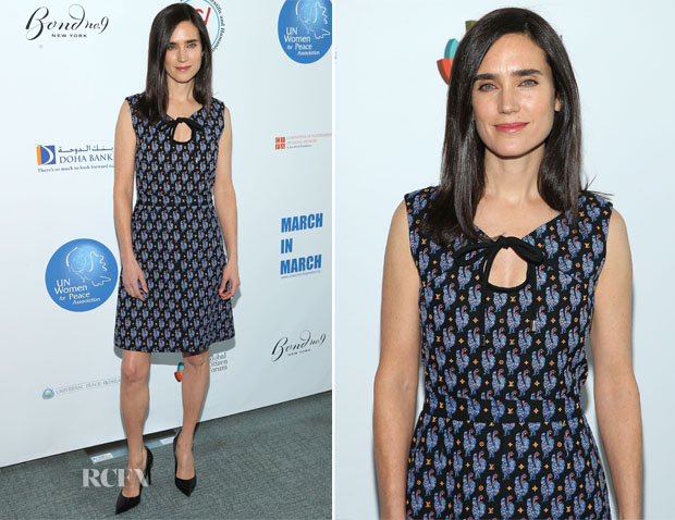 Jennifer Connelly In Louis Vuitton - UN Women For Peace Association International Women's Day Celebration