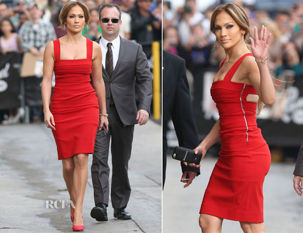 Jennifer Lopez In Preen - Jimmy Kimmel Live