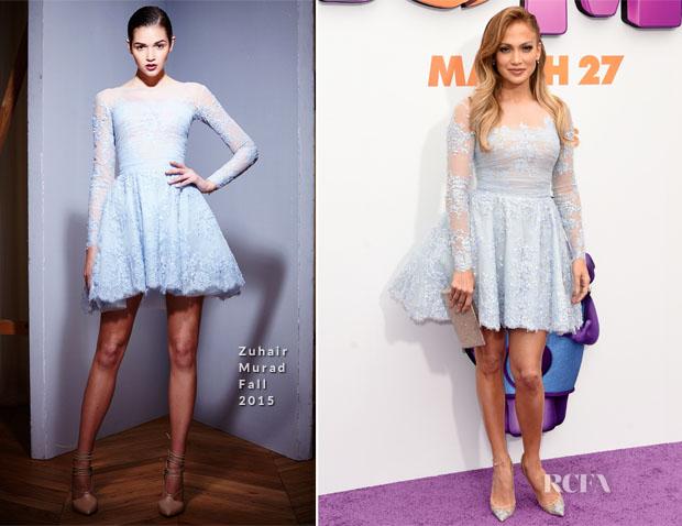 Jennifer Lopez In Zuhair Murad - 'Home' LA Premiere