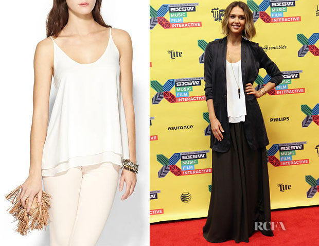 Jessica Alba's Krisa Double Layer Cami
