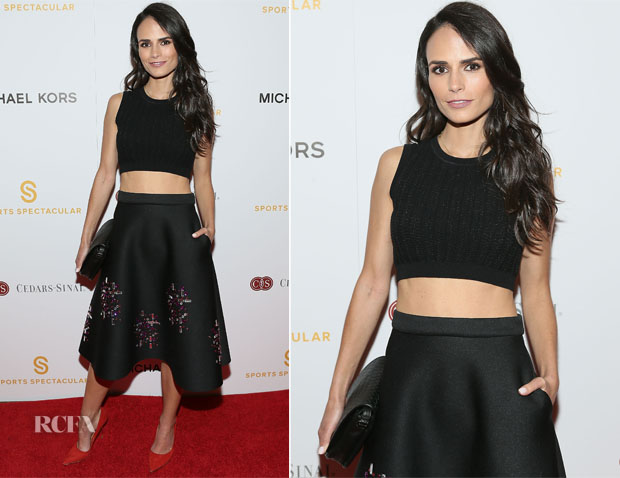 Jordana Brewster In Paule Ka & ASOS - Sports Spectacular Luncheon