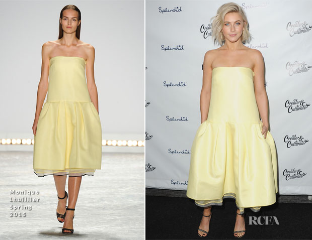 Julianne Hough In Monique Lhuillier - Create & Cultivate's Speaker Celebration