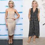 Julianne Hough In Reed Krakoff & Temperley London - SiriusXM Studios & AOL Studios