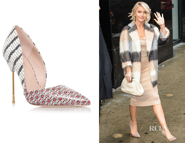 Julianne Hough's Kurt Geiger London Bond Pumps