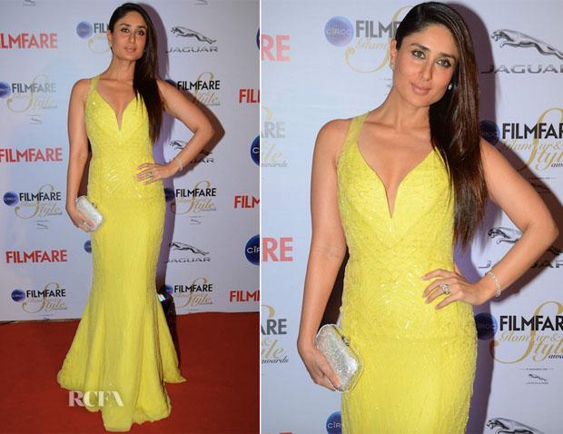 Kareena Kapoor In Roberto Cavalli Atelier - 2015 Filmfare Awards
