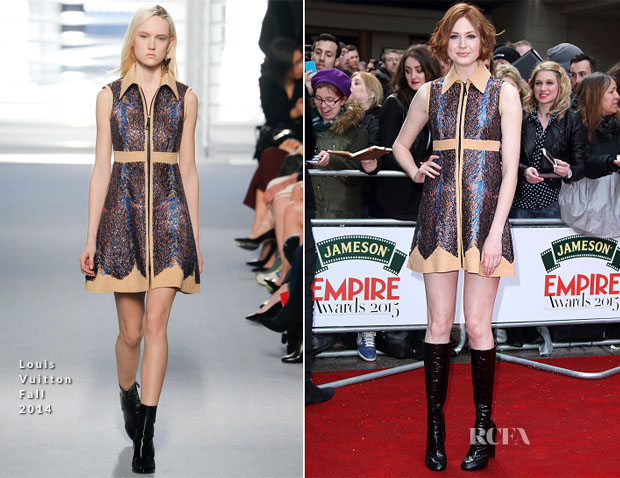 Karen Gillan In Louis Vuitton - 2015 Jameson Empire Awards