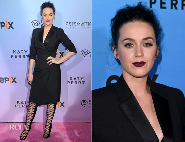 Katy Perry In Balenciaga - 'Katy Perry The Prismatic World Tour' Screening