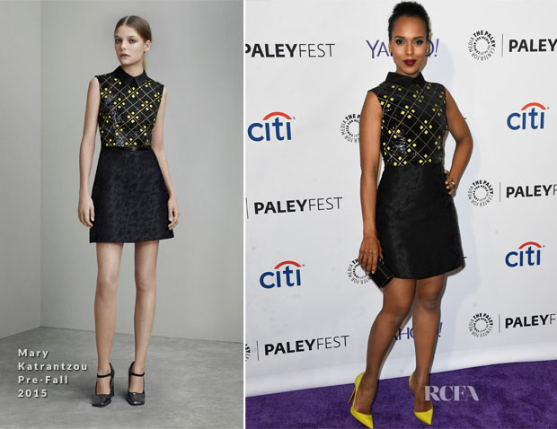 Kerry Washington In Mary Katrantzou - PALEYFEST LA Presents 'Scandal'