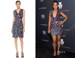 Kerry Washington's J. Mendel Sequined V Neck Dress